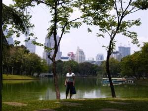 Die grüneOase in Bangkok - der Lumpini-Park