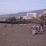 Sandstrand bei Playa de las Americas (Teneriffa)