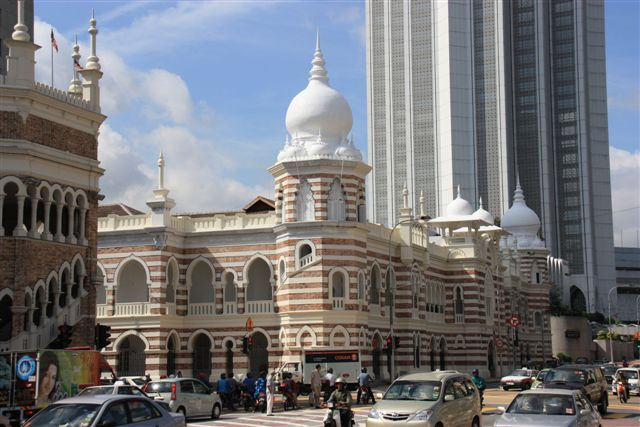 Reise Wiki Jame Moschee In Kuala Lumpur