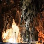 Blick in die Batu Höhle