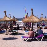 Strand vor dem Ballermann 6