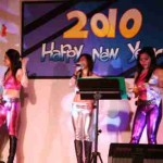 Musikband zur Silvesterparty