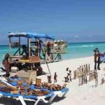 Strandverkäufer in Varadero