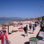 Promenade der Playa de Palma