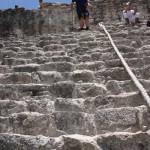 Besteigung der Pyramide von Coba