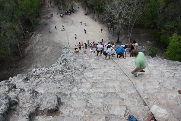 Blick von der Pyramide