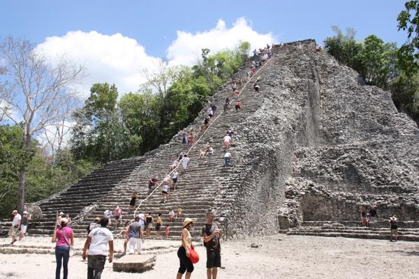 Pyramide von Coba
