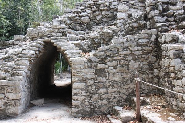 Archäologische Funde in Coba