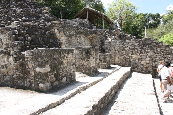 Historische Gebäude in Coba