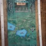 Stadtplan von Coba