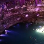Blick in die Cenote