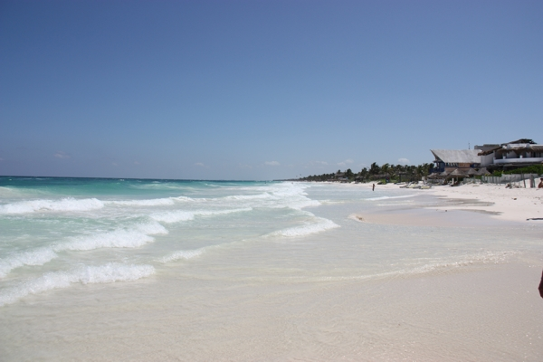 Strand bei Tulum