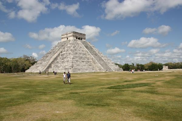 Pyramide in Chichen Itza