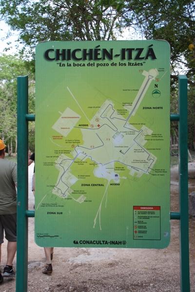 Tempelanlage von Chichen Itza