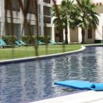 Pool-Anlage in einem 5 Sterne Hotel
