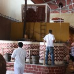 Kochbehälter für die Agavenpflanzen