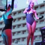 Tänzerinnen im Ushuaia Beach Hotel - Ibiza