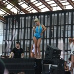 DJ mit Tänzerin im Ushuaia Beach Hotel - Ibiza