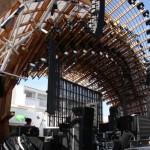 Bühnenanlage im Ushuaia Beach Hotel Ibiza