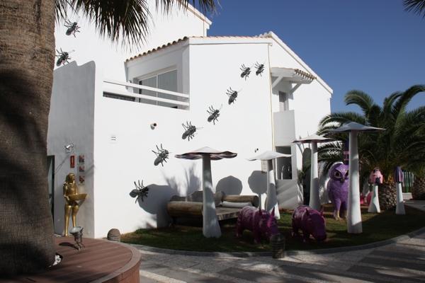 Hotelanlage im Ushuaia Beach Hotel