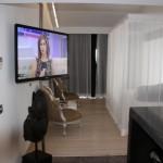 Blick in eine Suite im Ushuaia Beach Hotel