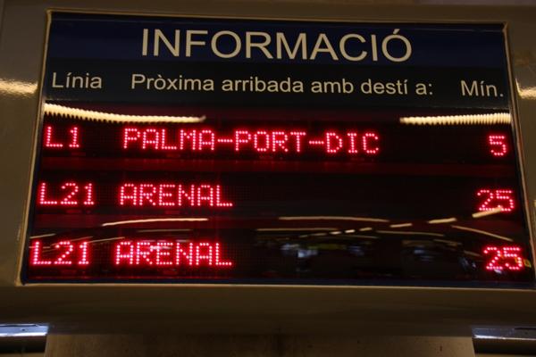 Information zu den nächsten Bus-Abfahrten