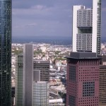 Maintower, Taunus Turm und Commerzbank-Turm