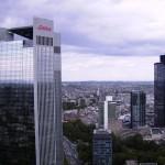 Blick auf das Trianon und die Skyline