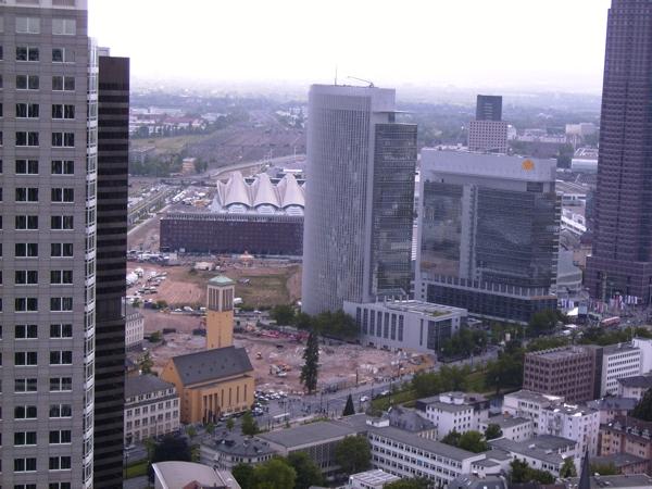 Blick vom Marriott-Tower