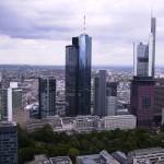 Blick vom FBC-Tower auf die Skyline