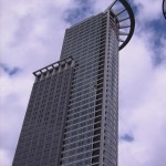 DZ Tower von unten
