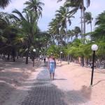 Strandpromenade in Punta Cana