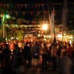 Party auf der karibischen Straße