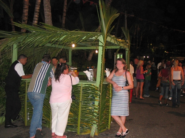 Cocktailbar im Riu Ressort
