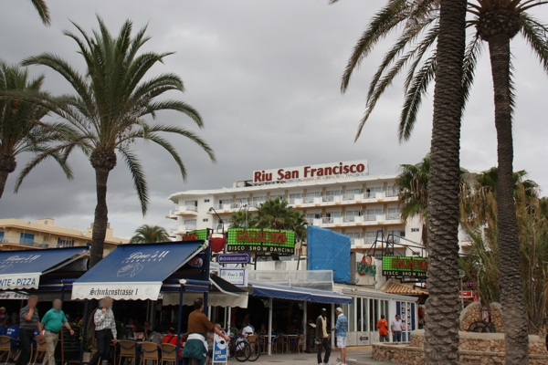 Riu San Francisco von der Schinkenstraße 1