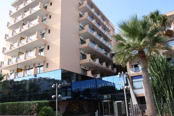 Seitenstraße zum Hotel Playa Golf