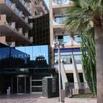 Eingang Hotel Playa Golf