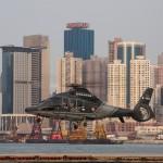 Hubschrauber in Hong Kong