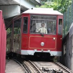 Historische Bahn in Hong Kong