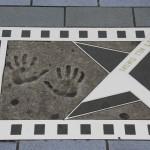 Handabdrücke auf der Avenue of Stars