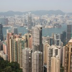 Hong Kong vom Peak Tram