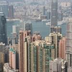 hong Kong vom Peak gesehen