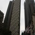 Wohnhochhäuser auf Hong Kong Island