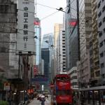 Straßenschluchten auf Hong Kong Island