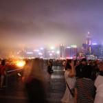 "Blick auf ""A Symphony of Lights in Hong Kong"""