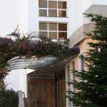 Eingang Hotel Pamplona