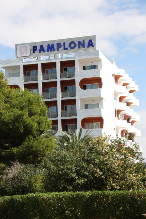 Hotel Pamplona mit 6 Etagen