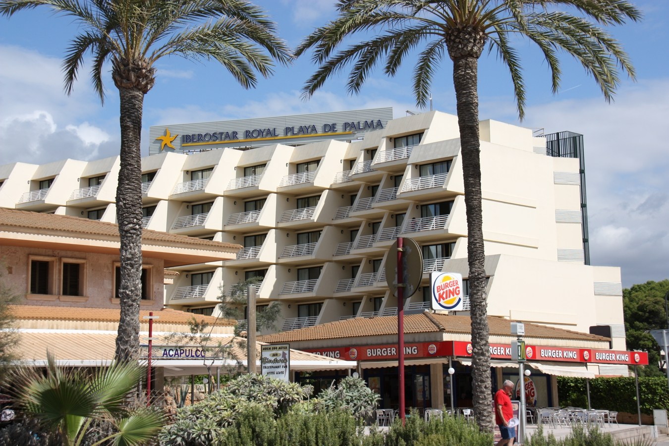 Hotel Iberostar Royal Playa de Palma vom Strand