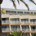 Balkone mit Meerblick im Hotel Iberostar Royal Playa de Palma