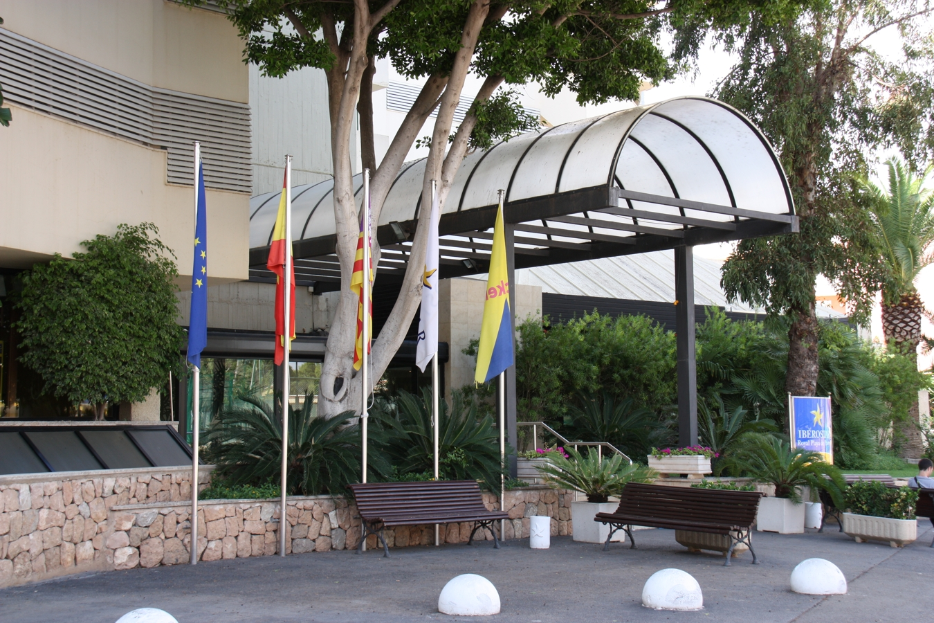 Eingang Hotel Iberostar Royal Playa de Palma